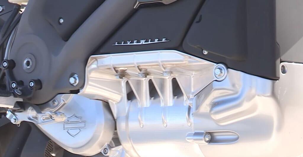 Der Elektromotor der Harley ist wie das gesamte Bike mit neuester Technik ausgestattet.