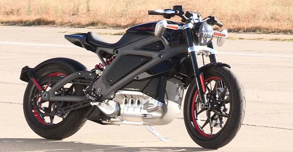 Das Motorrad des Harley-Davidson Projekts »LiveWire« macht nicht nur optisch eine tolle Figur.