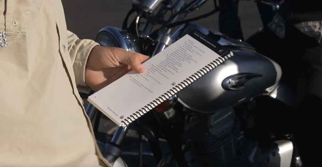 Hast du alle möglichen und nötigen Übungen auf deinem Zettel?