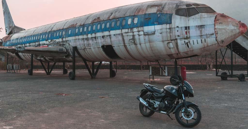 Habe keine Angst, der Motorradführerschein ist nicht so schwer wie der Pilotenschein für ein Flugzeug.