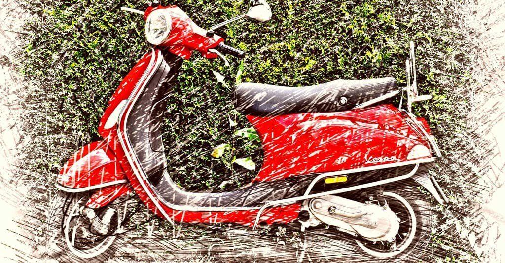 Wenn du erst einmal auf einem Roller sitzt, ist der Weg zu einem Motorrad nicht mehr weit.