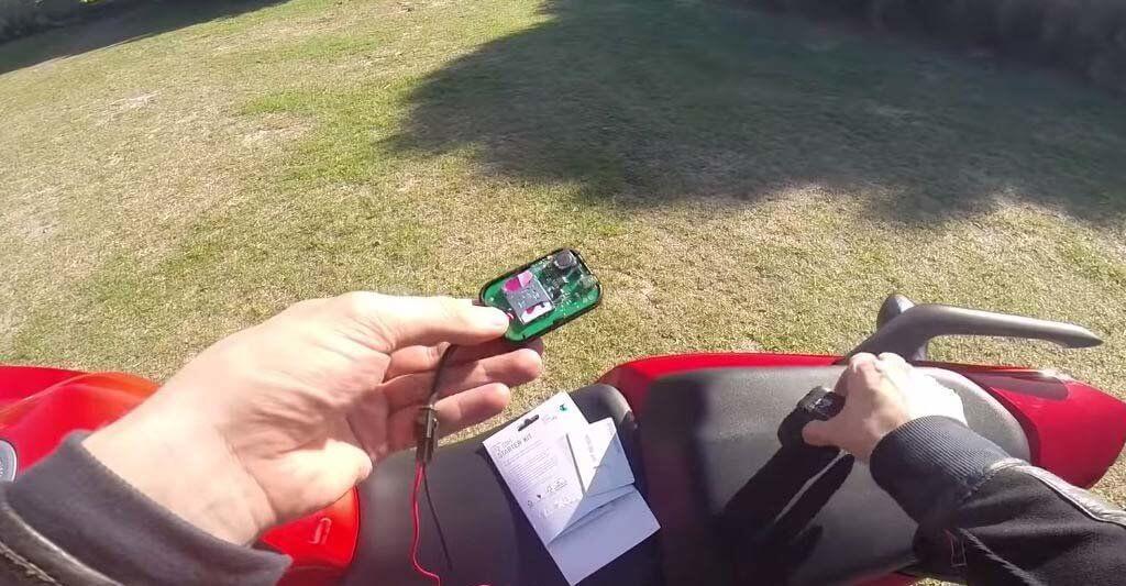 Mit dem GPS für Motorräder gehst du kein Risiko ein.