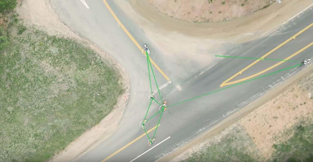 Mit dem richtigen Motorrad Headset, bleibt die Verbindung zu der Motorradgruppe auch bestehen, wenn ein Fahrer den Anschluss an die Gruppe verliert.