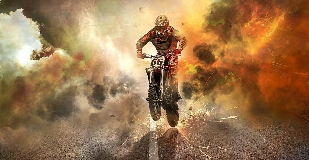 Wenn du einen Fehler beim Motorradbatterie laden machst, kann es schnell Funken regnen. Also pass bitte auf!