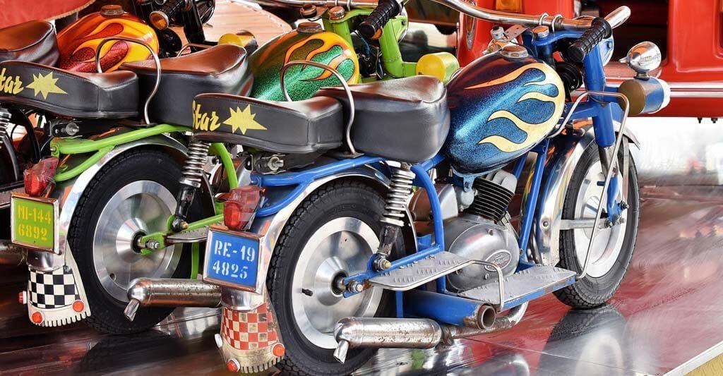 Als Kind hattest du den Traum vom eigenen Motorrad, lasse ihn Wirklichkeit werden.