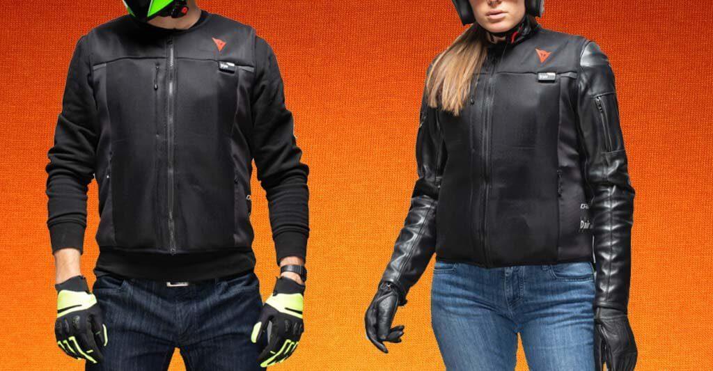 Schau dir doch einmal die Airbag Weste Smart Jacke von dem Hersteller Dainese bei uns im Shop an, indem du auf das Bild klickst.