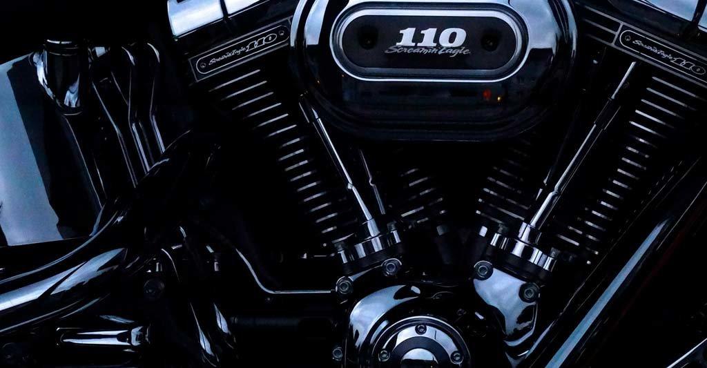 Behandel deinen Motorradmotor gut und er wird dir treue Dienste erweisen.