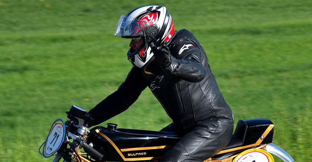 Finde deinen leisen Motorradhelm und du wirst es lieben.